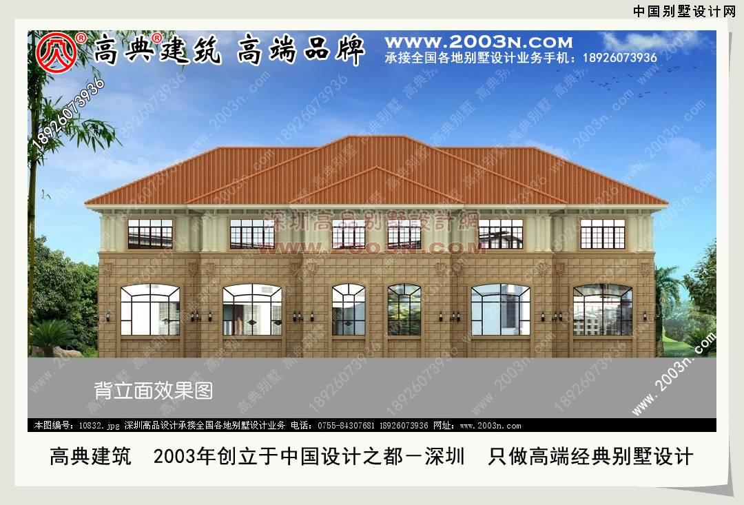 农村小别墅设计图纸及效果图大全中国别墅设计网 800平方