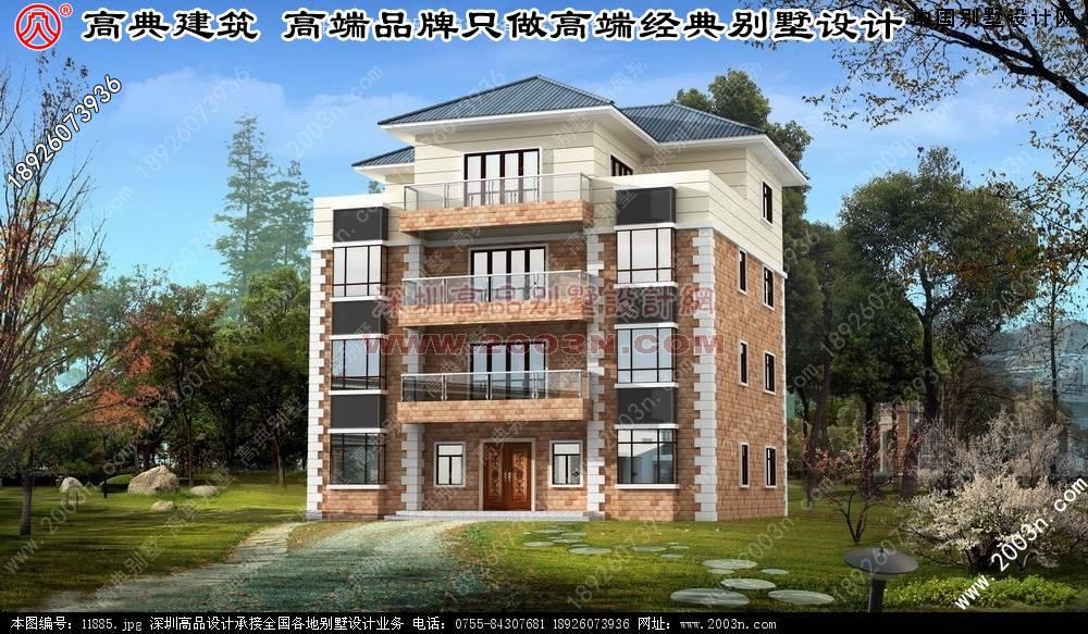 2层别墅设计图 农村盖房设计别墅 小别墅设计图纸大全